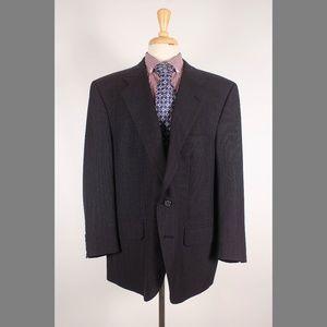 Burberry 48S Gray Sport Coat Y635